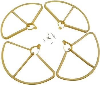 Hubsan Gelber Propeller F/ür H501S H501A H501M