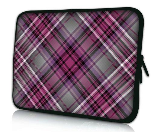 """Sidorenko Designer Laptoptasche Notebooktasche Sleeve Größe 43,9cm von 17\"""" bis 17,3\"""" Zoll Neopren Schutzhülle"""