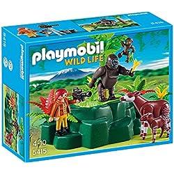 Playmobil Wild Life 5415 kit de figura de juguete para niños - kits de figuras de juguete para niños (Niño, Multicolor)