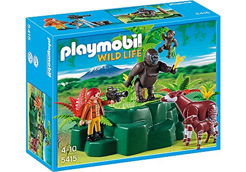 Playmobil Wild Life 5415 Niño Kit Figura Juguete