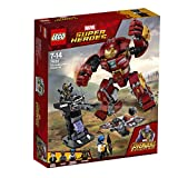 LEGO UK 76104 Super Heroes Marvel Avengers The Hulkbuster Smash-Up Set