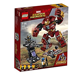 LEGO 76104 Marvel Super Heroes The Hulkbuster Smash-Up Superhero Toy from LEGO