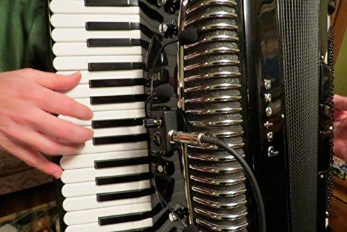 EL GRIP PLUS DE LUJO  MIRAGE ACORDEON A PIANO SISTEMA DE MICROFONO   CON ( 3 ) CUELLO FLEXIBLE MICRO - GOOSE POR MYERS PASTILLAS ~ VERLO EN ACCION ! COPIAR Y PEGAR: MYERSPICKUPS COM