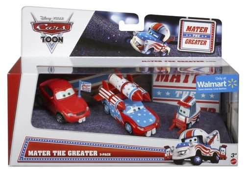 disney-cars-toon-mater-the-greater-3er-set-mit-big-fan-daredevil-lightning-mcqueen-with-teeth-lug-wi