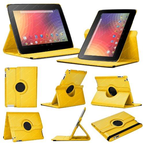 funda-cover-para-google-nexus-10-1-generacion-amarillo-funda-de-cuero-inteligente-con-360-de-rotacio