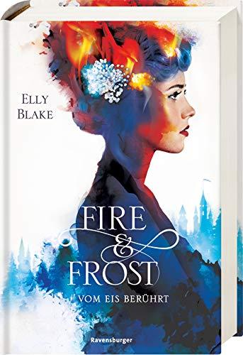 Fire & Frost, Band 1: Vom Eis berührt - Feuer-magie-cover
