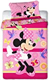 Disney 094 Minnie Maus Baby Bettwäsche Set 100 x 135cm