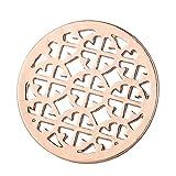 Morella Damen Coin rosegold Ornament 33 mm