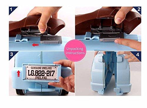 Kinderkoffer-Handgepck-Ride-On-and-Carry-Suitcase-Koffer-Ruckscke-Taschen-Reisegepck-Fit-3-Jhrige-Kinder