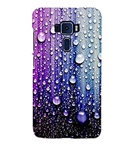 PrintVisa Wozzle Water 3D Hard Polycarbonate Designer Back Case Cover for Asus Zenfone 3 Deluxe ZS570KL