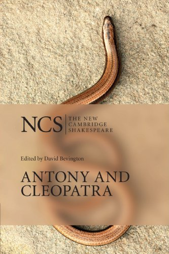 Antony and Cleopatra 2nd Edition (The New Cambridge Shakespeare) por Shakespeare