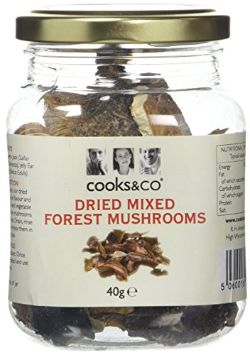 Cooks & Co Dried Mixed Forest Mushrooms, 40 g Test