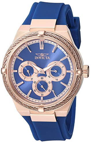 Invicta Bolt Reloj de Mujer Cuarzo Correa de Silicona Caja de Acero 28912