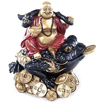 Buddha Sitting on wealth Toad