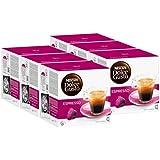 Nescafé Dolce Gusto Espresso, Lot de 6, 6 x 16 Capsules