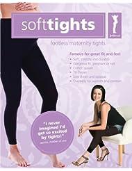 Soft, de grossesse Leggings, umstands Collant de collants sans pieds, opaque, noir, confortable, charge, Taille 34–42, 70le