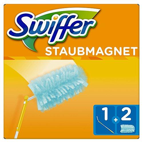 Swiffer Staubmagnet XXLSet (1Griff und 2Staubmagnet Tücher) 1er Pack