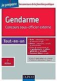 Gendarme - Concours sous-officier externe - 2e éd. - Tout-en-un