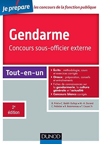 Gendarme - Concours sous-officier externe - 2e d. - Tout-en-un