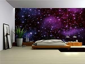 Wallpaper Mural Galaxy Fleece Photo Wallpaper Wall