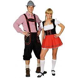 Traje de Oktoberfest, Bayern camisa de vestir, tamaño 58/60