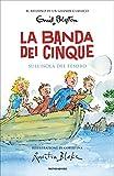 La banda dei cinque - 1. Sull'isola del tesoro (Italian Edition)
