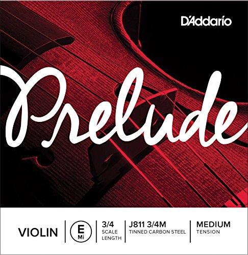 DADDARIO ORCHESTRAL PRELUDE   CUERDA INDIVIDUAL MI PARA VIOLIN  ESCALA 3/4  TENSION MEDIA
