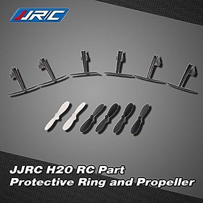 Original JJRC H20 RC Hexacopter Quadrocopter Drohne Teil Schutzring H20-05 und H20-07 Propeller Luftschrauben