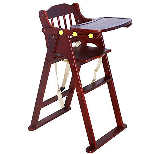 LJHA Tabouret pliable Tabouret pliant en bois solide d'enfants/chaises de bébé/Seat d'enfant en bas âge (5 couleurs disponibles) chaise patchwork (Couleur : Marron)