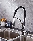 Eeayyygch Einfache Küchenarmatur Dusche Fixture Frühjahr Küchenarmatur Frühjahr Wasserhahn vertikale Wasserhahn (Farbe : -, Größe : -)