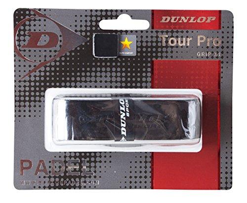Dunlop Grip-Tour Pro - Grip para pala de pádel, color negro