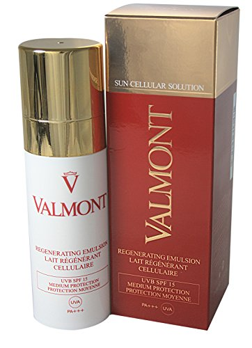 Valmont Lozione Anti-Imperfezioni, Swiss Alps Defense Regenerating Emulsion, SPF 15, 100 ml