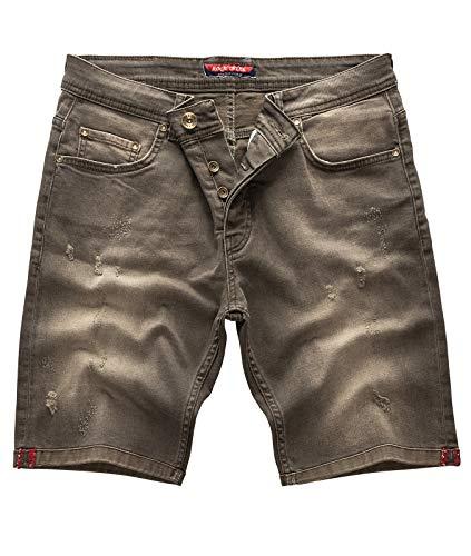 Rock Creek - Pantalón Corto - Slim - para Hombre Green Moon 29 W