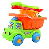 T TOOYFUL Sabbia per Sabbiera Bambini Camion Giocattolo Auto Tirare Indietro e Andare Macchinine