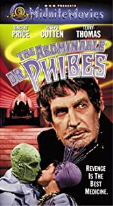 The Abominable Dr. Phibes [VHS]