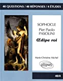 40/4 Oedipe Roi Sophocle et Pasolini Bac L 2016