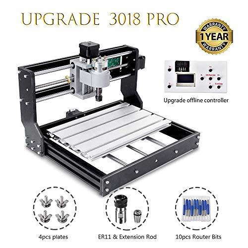 HUKOER 3018 Pro CNC Machine Gravure laser engraving