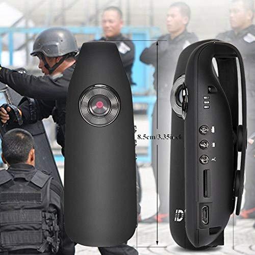 HD 1080P 130 ° Mini Camcorder Dash Cam Polizeikörper Motorrad Fahrrad Bewegungskamera