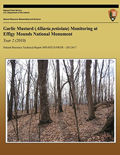 Garlic Mustard (Alliaria petiolata) Monitoring at Effigy Mounds National Monument Year 2 (2010) por National Park Service