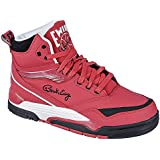 Patrick Ewing Center Hi Red Black Mens Trainers -