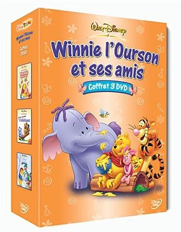 Winnie l'ourson et ses amis, Vol.2 : Les aventures de Winnie l'ourson / Winnie l'ourson et l'éfélant / Joyeux Noël Winnie - Coffret 3 DVD