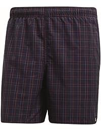 adidas Men's Check Length Swim Shorts