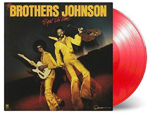 Right on Time (Ltd.Strawberry Red Vinyl) [Vinyl LP] Johnson Brothers Strawberry