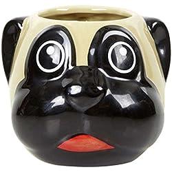 50 Fifty 20 x 20 cm de CARLINO de cerámica taza de desayuno, Beige