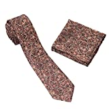 #1: To The Nines Men's Tie and Pocket Square (Paisley)