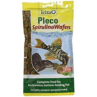 Tetra Pleco Spirulina Wafers for All Herbivorous Bottom-Feeding Fish, 150g 5