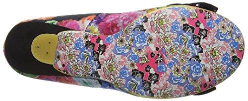 Irregular Choice Dazzle Razzle, Escarpins femme Black (Black Multi Floral)