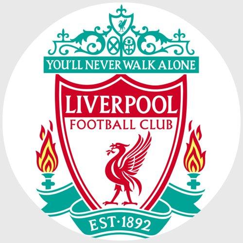 Tortenaufleger Tortenfoto Aufleger Foto Bild Fußball Liverpool rund ca. 20 cm *NEU*OVP*