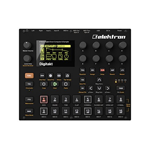 Elektron Digitakt Drum Computer Sampler