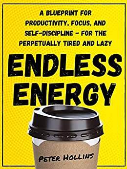 Endless Energy: A Blueprint for Productivity, Focus, and Self-Discipline - for the Perpetually Tired and Lazy (Think Smarter, Not Harder Book 2) (English Edition) van [Hollins, Peter]